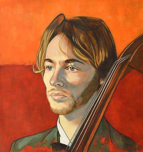 portrait musician, online portraitpainting,