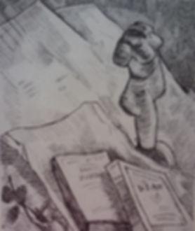 sketch still life Van Gogh