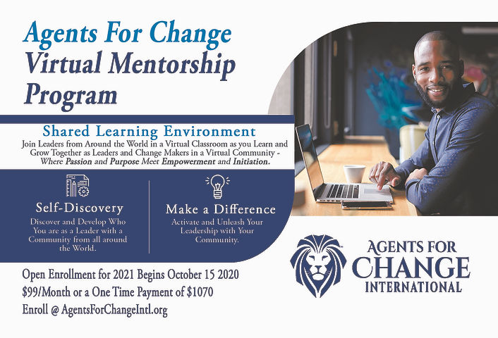 Virtual Mentorship Program Postcard 2021