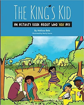 The King and His Kids Activity Book