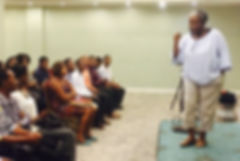The first Agents For Change Haiti Introductory Meeting - 2017