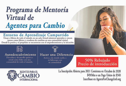 Virtual Mentorship Program Postcard Span