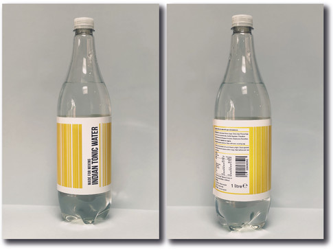 TONIC WATER LABEL
