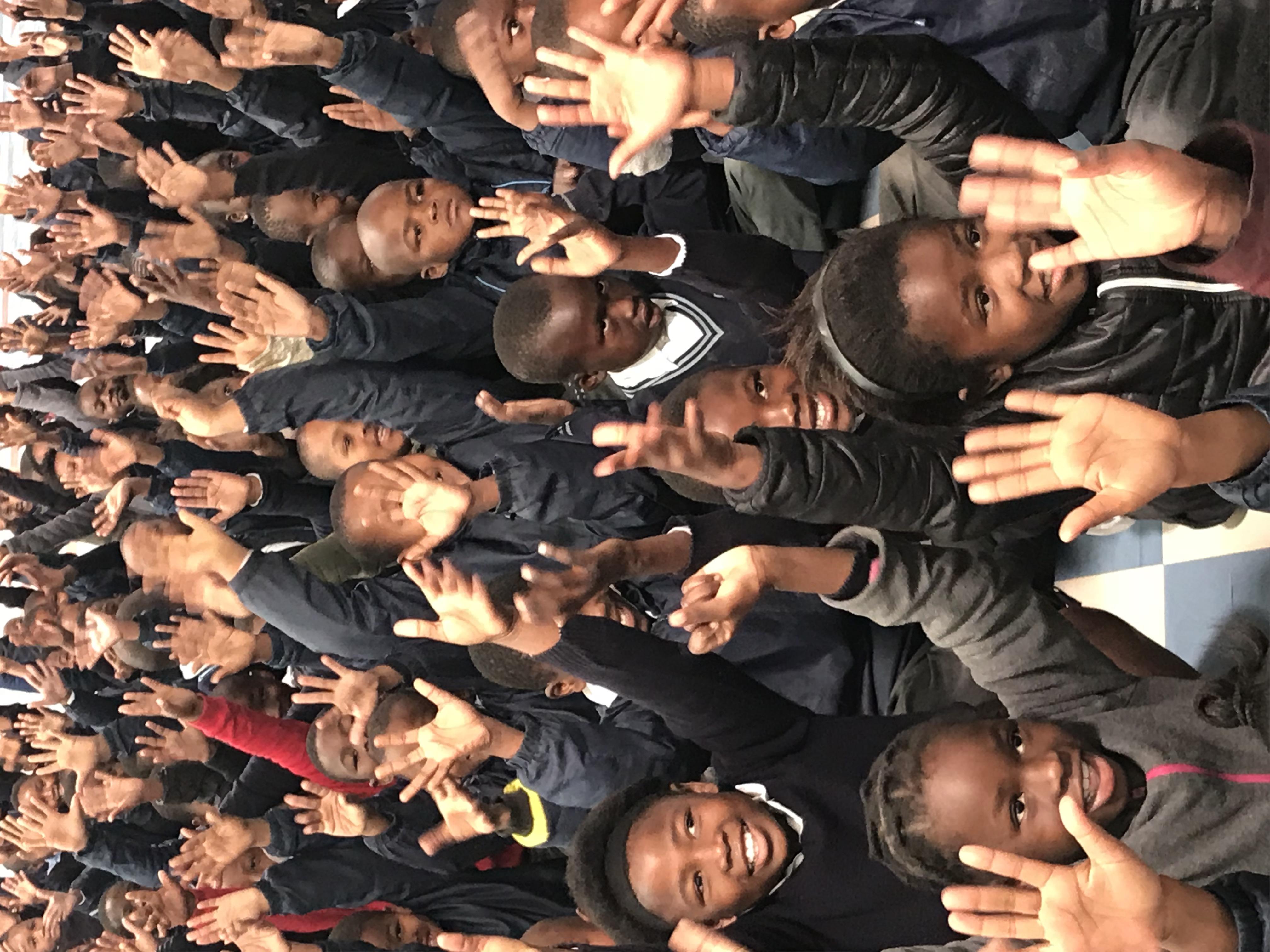 Gansbaai isixhosa learners