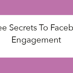 3 Secrets to Facebook Group Engagement