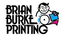 Brian Burke Printing original logo design