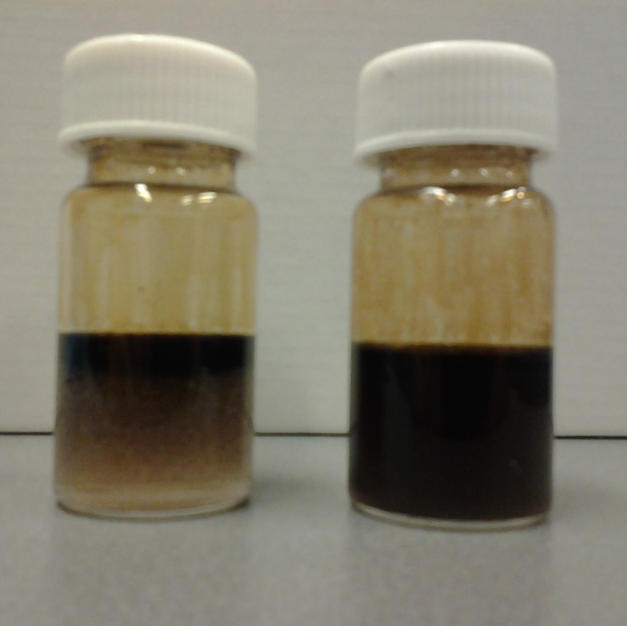 emulsification of crude oil with polymeric surfactants