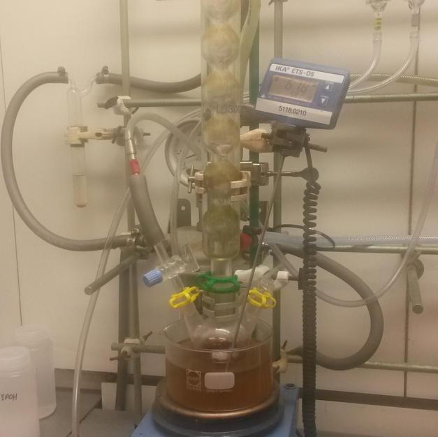 polymerization setup