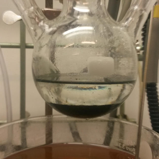 dilution of crude mixture