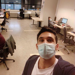 office PhD students during Corona