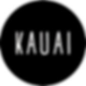 Black circle Kauai logo - without strapl
