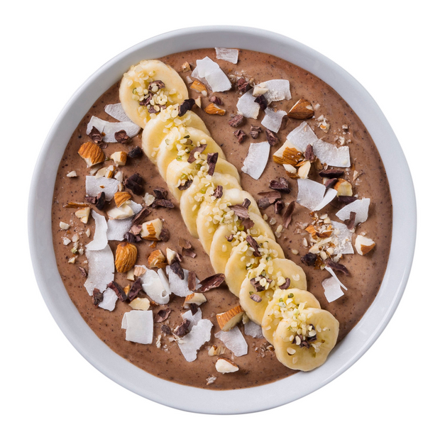 CHOC PROTEIN SMOOTHIE BOWL