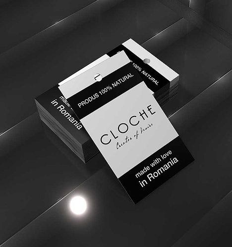 Eticheta personalizata carton simplu 5x9 cm