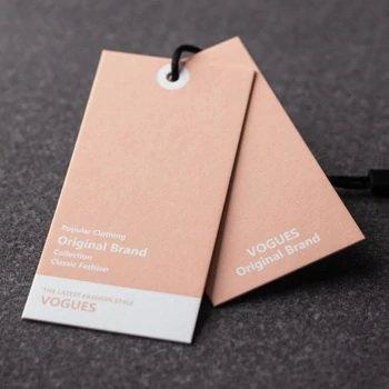 Eticheta personalizata carton special 5x9 cm