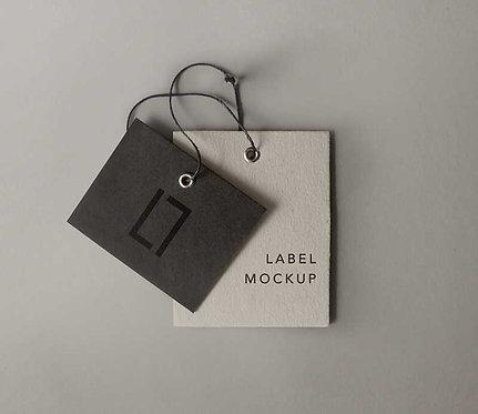 Eticheta personalizata carton special 10x10 cm