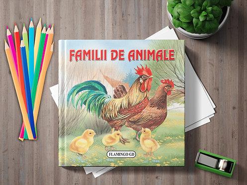 Familii de animale (pliant cartonat)
