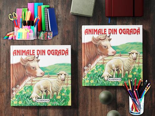 Animale din ograda (pliant cartonat)