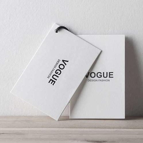 Eticheta personalizata carton simplu 3x5 cm