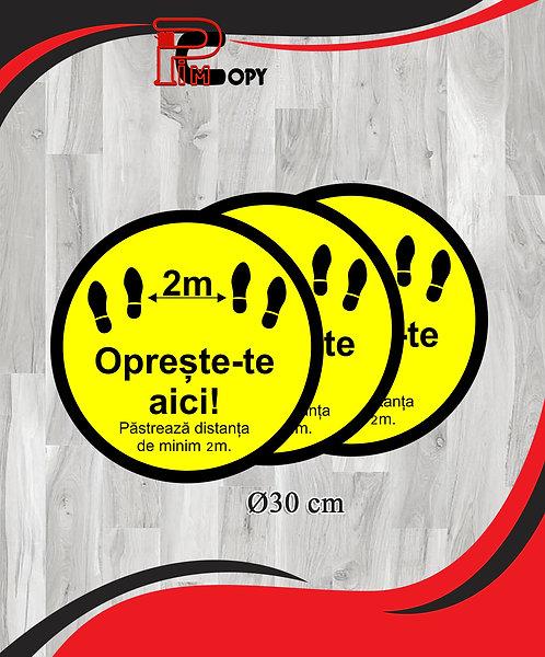 Stickere podea - set 3 buline