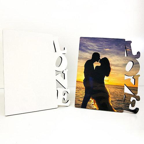 Rama foto personalizata cu poza - Model LOVE 2