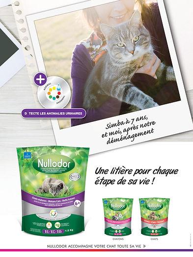 litière chat nullodor présentation