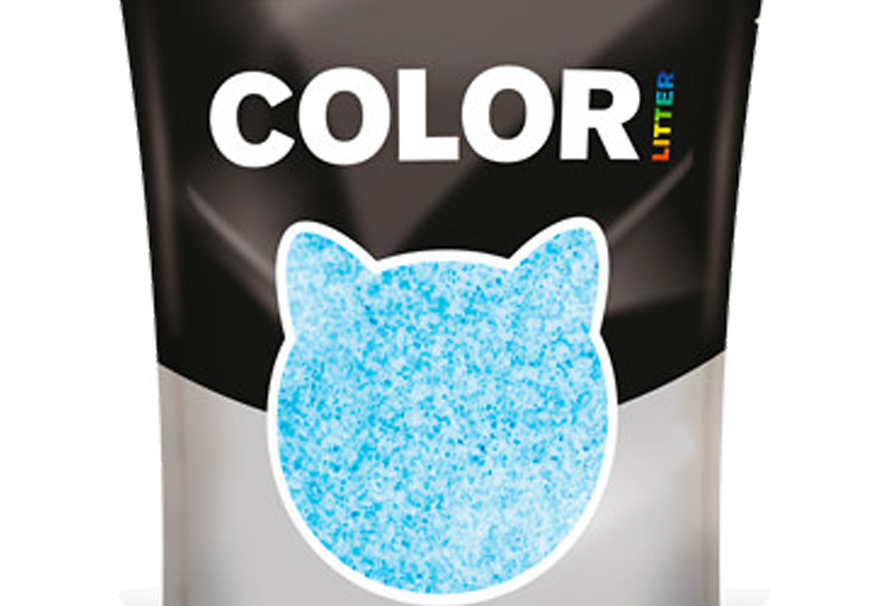 COLOR Chats Bleue 1.5kg