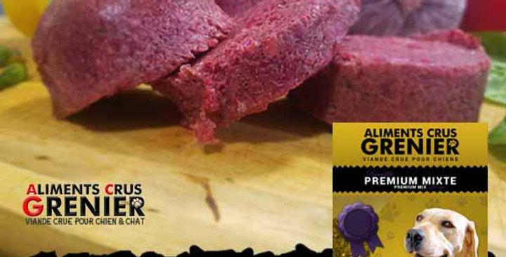 Premium Mix -  Poulet/Boeuf Abats Vitamines Légumes
