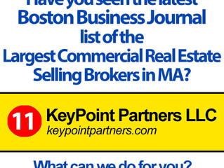 KPP Ranks 11th in Boston Business Journal Largest Commercial Real Estate Selling Brokers List