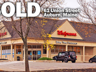 KeyPoint Partners Negotiates Sale of Walgreens in Auburn, Maine