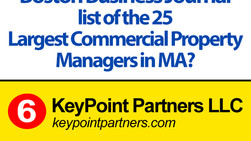 KPP moves up to 6th in Boston Business Journal Largest Commercial Property Managers List