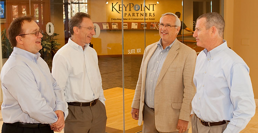 Brian Kelley, Mark Becker, Bob Lemons, Bill Lawler, the Partners of KeyPoint Partners, providers of commercial real estate services