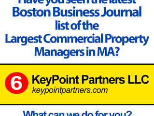 KPP retains 6th ranking in Boston Business Journal Largest Commercial Property Managers List