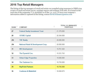KeyPoint Partners Ranked 35 On Top U.S. Retail Managers List