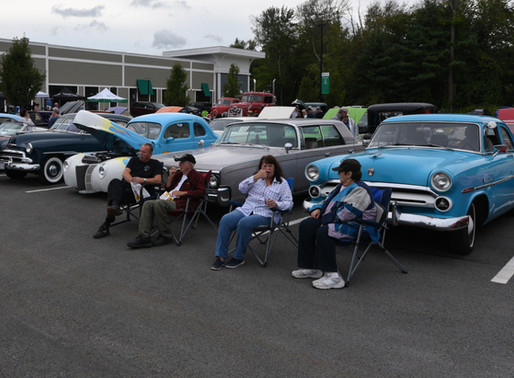 Classic Car Show at The Point to benefit The Scott Holt Fund a Success