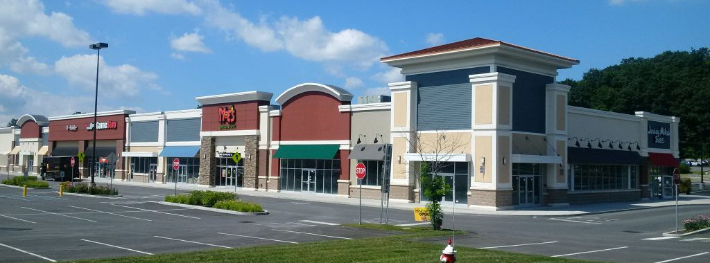 Burlington Marketplace, a retail property owned by client Linear Retail Properties in Burlington, Massachusetts.
