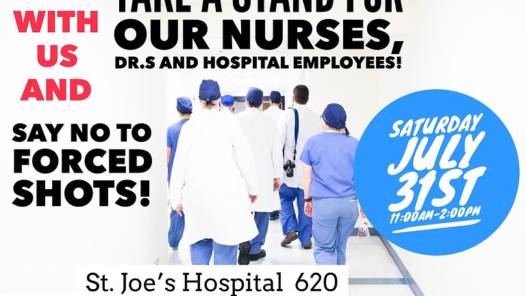 Peacefully Support Our Friends at St. Joe's Hospital in Howell