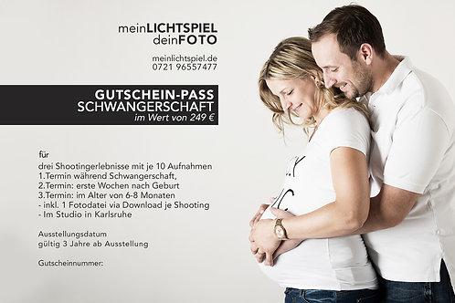 SCHWANGERSCHAFTS- GUTSCHEIN-PASS