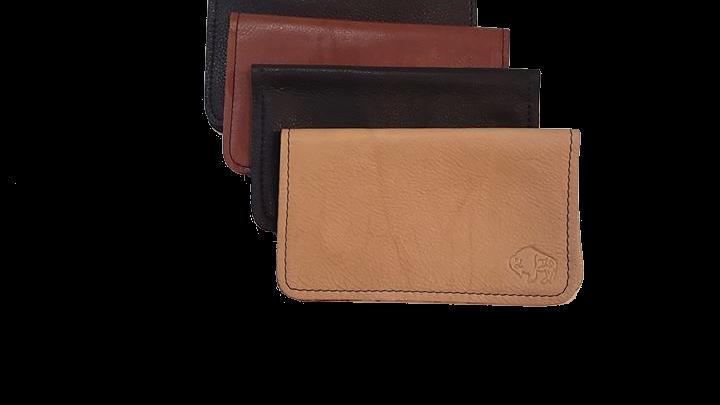 Buffalo Leather Checkbooks