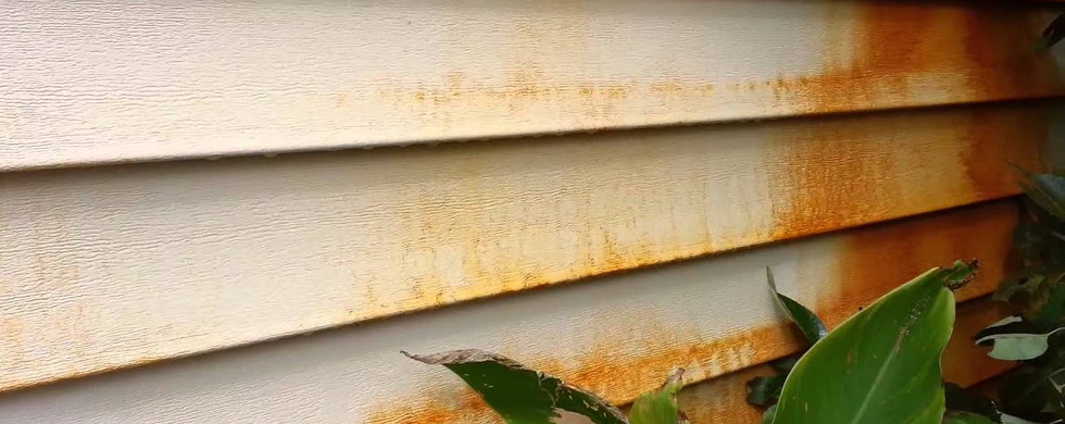 RUST STAIN REMOVAL