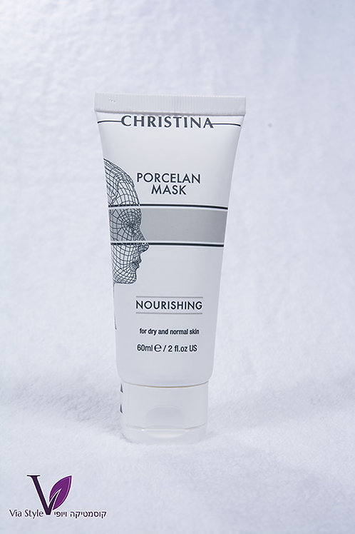 Porcelan mask Nourishing.Christina.60 ml