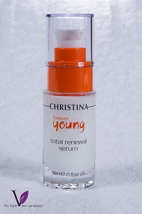 Total Renewal Serum. Forever Yong. Christina