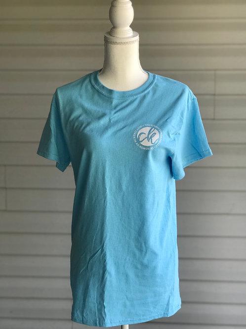 Short sleeve T-shirt, blue