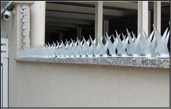 Instalação de Wall Spikes - Lanças Protetoras - RJ