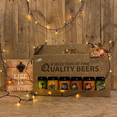 Assortiment van 6 bieren - doos