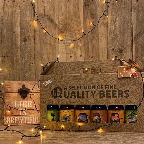 Assortiment van 6 bieren - karton
