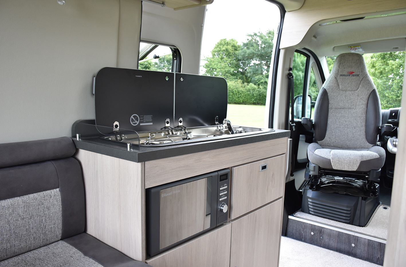 2 berth motorhome for hire