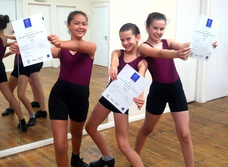 Modern and Tap Dance Exams