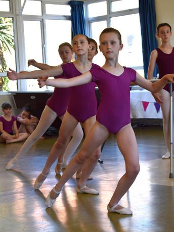 Ballet Presentation at Highbury Hall, Tenterden