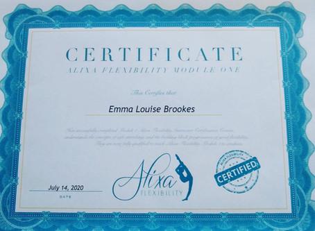 Alixa Flexibility qualification