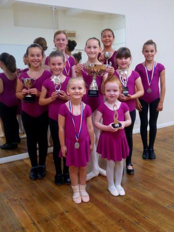 Brookes Dance Acdaemy dance students celebrate successe